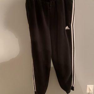 Adidas Black & White Joggers